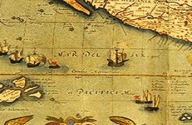 El Pacífico a partir S. XVIII